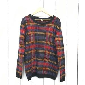 Urban Outfitters 90's plaid sweater